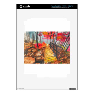 A Walk in the Woods iPad 3 Decal