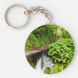 A Walk in the Woods Keychain