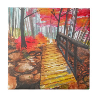 A Walk in the Woods Tile