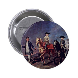 A Walk On Horseback By Longhi Pietro (Best Quality Pins