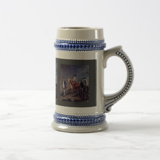 A Walk On Horseback By Longhi Pietro (Best Quality 18 Oz Beer Stein
