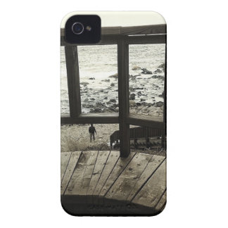 A Walk on the Beach iPhone 4 Cases