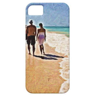 A Walk on the Beach iPhone 5 Case