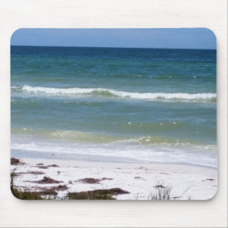 A walk on the beach mouse pad