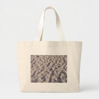 A Walk on the Beach Sand Design Jumbo Tote Bag