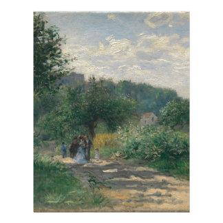 A Walk Through a Garden Letterhead