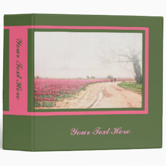 A Walk Through the Tulip Fields Binder