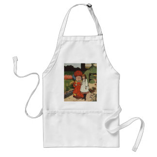 A Walk With The Duchess Adult Apron