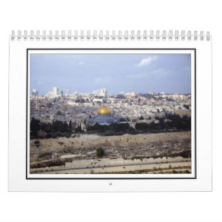 A Walkabout in Jerusalem - The Old City Calendar