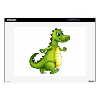 "A walking crocodile skins for 15"" laptops"