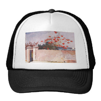 A wall, Nassau by Winslow Homer Trucker Hat