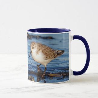 A Wandering Sanderling Mug