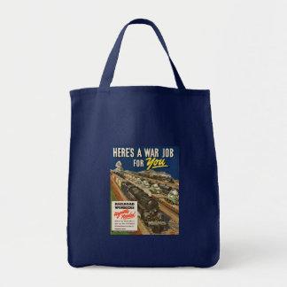 A War Job For You Canvas Bag