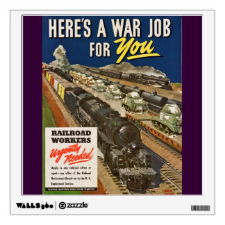 A War Job For You Wall Decal