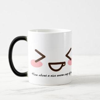 """A Warm Cup of Happy"" Coffee Mug"
