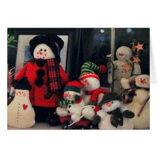 A Warm Fuzzy Holiday Season Greeting Card