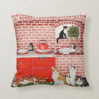 A Warm Place Throw Pillow