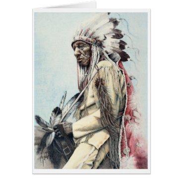 Art Themed A Warrior's Legacy Fine Art Card