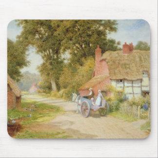 A Warwickshire Lane Mousepad
