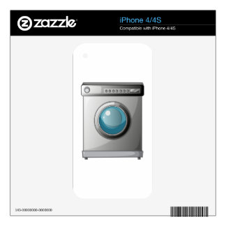A washing machine decals for iPhone 4S
