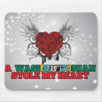 A Washingtonian Stole my Heart Mouse Pad