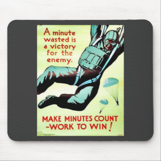 A Wasted Minute Mouse Pad