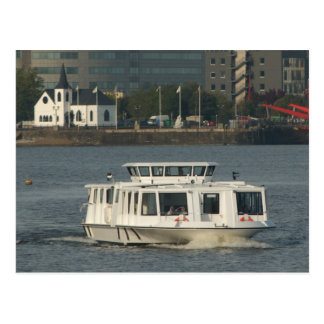 A Water Bus at Cardiff Bay Postcard