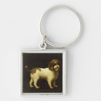 A Water Spaniel, 1769 (oil on canvas) Keychain