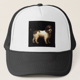 A Water Spaniel by George Stubbs Trucker Hat