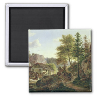 A Watermill in the Vosges near Ribanville, 1836 Magnet
