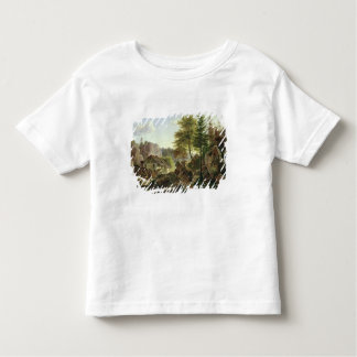 A Watermill in the Vosges near Ribanville, 1836 Toddler T-shirt
