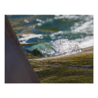 A Wave and a Splash Poster