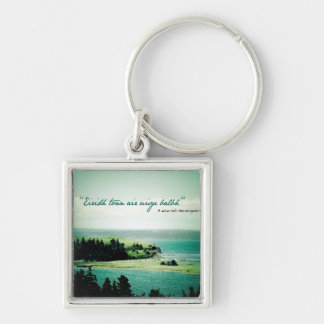 A Wave Will Rise: Cape Breton Keychain