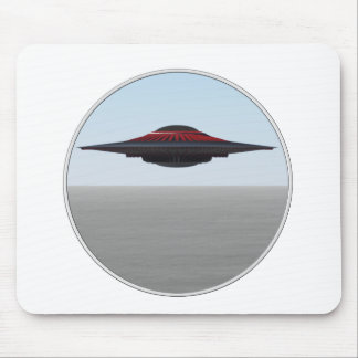 A way cool Flying Saucer. Mouse Pad