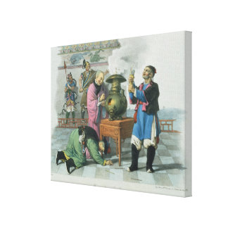 A Way of Telling the Future, engraved by Mlle. For Canvas Print