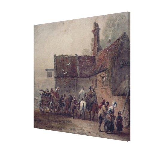 A Wayside Inn Canvas Prints