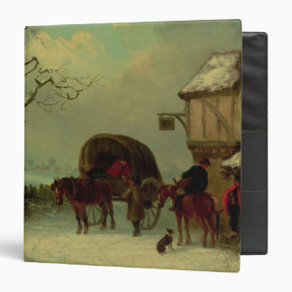 A Wayside Rest - Stopping at the Inn 3 Ring Binder