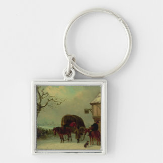 A Wayside Rest - Stopping at the Inn Keychain
