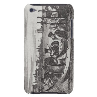 A Wealthy Mandarin Dining in a Boat, illustration iPod Touch Cover
