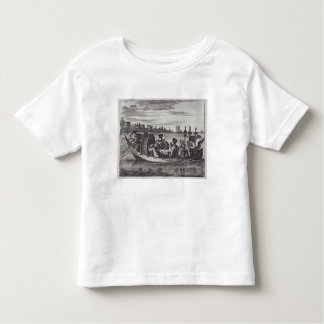 A Wealthy Mandarin Dining in a Boat, illustration Toddler T-shirt
