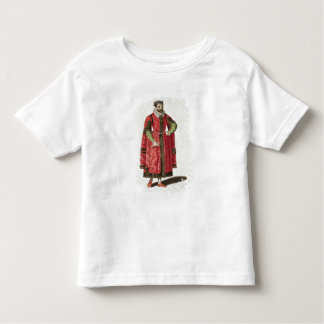 A Wealthy Merchant of London in 1588 (engraving) Toddler T-shirt
