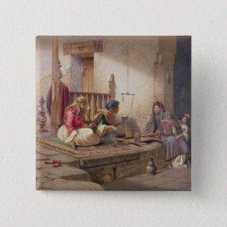 A weaver in Esna, one of 24 illustrations produced Button