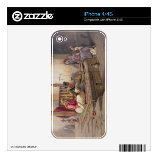 A weaver in Esna, one of 24 illustrations produced Decal For The iPhone 4