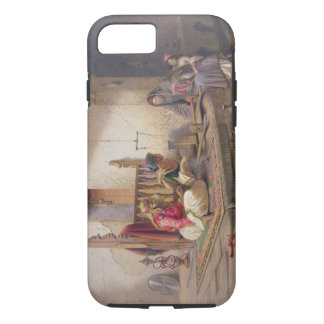 A weaver in Esna, one of 24 illustrations produced iPhone 7 Case