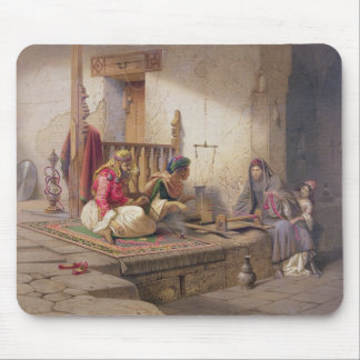 A weaver in Esna, one of 24 illustrations produced Mouse Pad