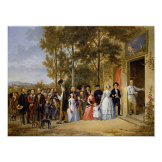 A Wedding at the Coeur Volant, Louveciennes Poster