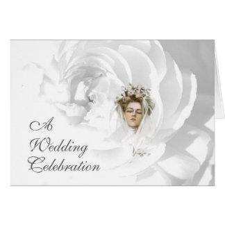 A Wedding Celebration Invitation Card