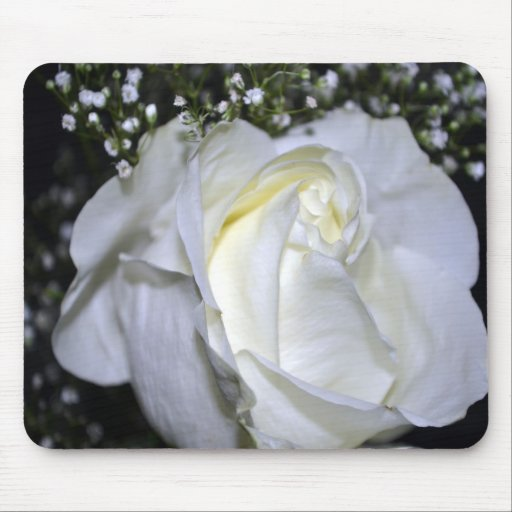 A Wedding Rose Mousepad
