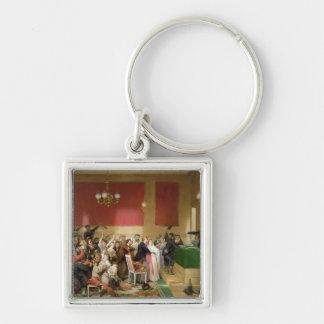A Wedding under the Commune of Paris of 1871 Keychain