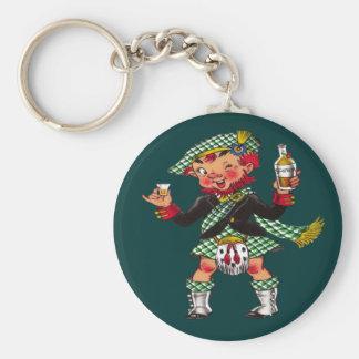 A Wee Bit O' Scotch Keychain